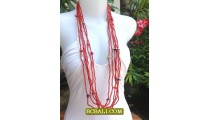 Long Line Seeds Bead Necklace Fashion Ladies