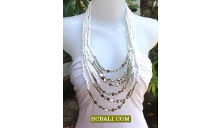 New Beads Necklaces Multi Strand Charming Fashion Women