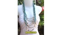 New Beads Necklaces Multi Strand Steels Fashion Women
