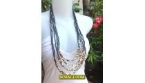 Woman Jewelry Fashion Multi Strand Necklace New 2013