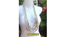 Women Fashion Multi Strand Necklace Ready Stock 2013