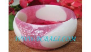 Resin Bangles Bracelets Fashion