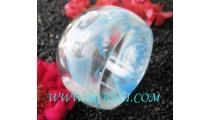 Handmade Resin Bangle Glass