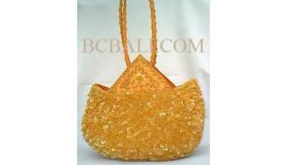 Women's Handbag Full Beads