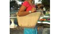 Beach Handbags Natural
