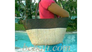 Beach Handbag Organic Straw