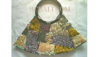 Classic Beads Handbags Motif