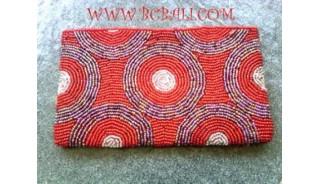Wallet Beaded Full Handmade