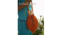 Handbag With Beads