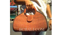 Handbags Sisal Woman