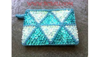 Handmade Purse By Beads Material