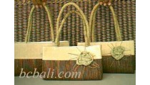 Water Hyacinth Leadies Handbags