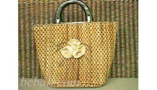 Organic Natural Seagrass Handbags