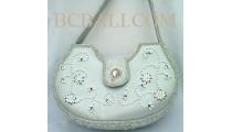 Oval Handbags Beads
