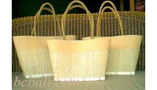 Shopping Handbags Natural Sets