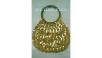 Woman Beads Handbags