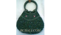 Woman Full Beads Bags