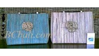 Woven Seagrass Handbag