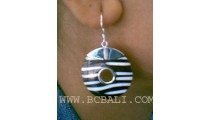 Sea Shell Earring Silver