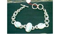 Bracelets Silver Motif
