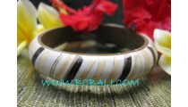 Coco Wooden Resin Bangles