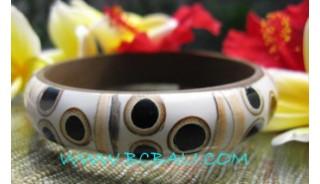 Coconut Resin Bangles