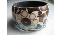 Coconut Resin Bracelets