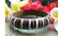 Coconut Woods Resin Bangles