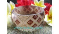 Hand Made Bangles With Batik Cotton