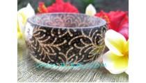 Natural Resin Batik Fashion Bangle
