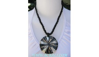 Necklace Shell Resin Chokers
