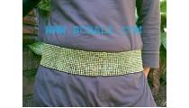 Beaded Elastic Belt