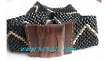 Black Coconut Woods Belts