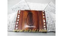 Fashion Bead Buckle Belt