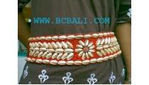 Lady Bead Shell Belt