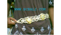 Lady Belt Mother Pearls