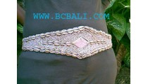 Sea Shell Belt With Beads