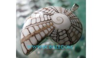 Pendant Shiva Silver Shells