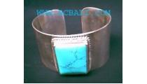 Turquoise Silver Bracelet 925