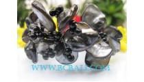 Black Shell Bracelets