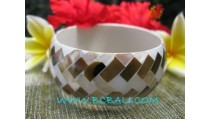 Natural Fashion Bangles Shell