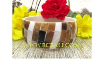 Shell Pearl Bangles Fashion