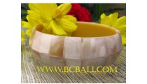 Shell Pearl Bangles Resin