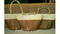 Beach Bags Pandanus Woven