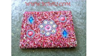 Coin Beads Purses Home Made