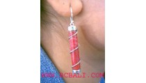 Gemstone Red Coral Silver