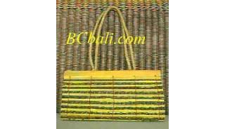 Bamboo Handbag Long Handle