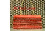 Organic Wood Bamboo Bags