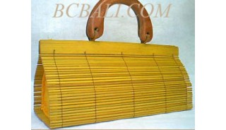 Wood Handbags Bamboo