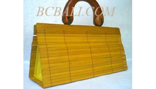Bali Handbags Bamboo